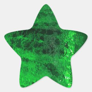 ¡Hielo - glacial - hermoso! Calcomania Forma De Estrella Personalizadas