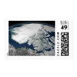 Hielo marino ártico sobre Norteamérica Franqueo