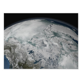 Hielo marino sobre Norteamérica Cojinete
