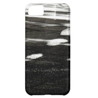Hielo negro carcasa para iPhone 5C