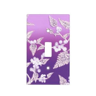 hielo púrpura cubiertas para interruptor