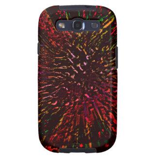 Hielo rojo galaxy SIII cárcasa