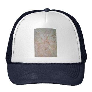Hielo rosado completamente sólido gorra