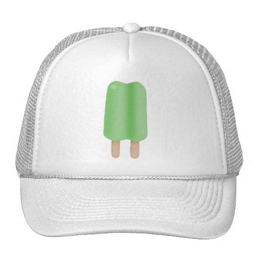 Hielo verde del estallido gorras de camionero