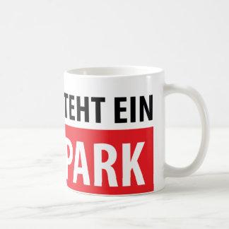 Hier entsteht ein Skatepark icon Coffee Mug