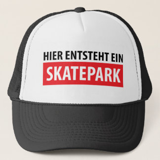 Hier entsteht ein Skatepark icon Trucker Hat