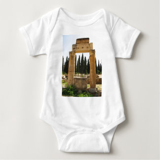Hierapolis - ancient Greek city near  Pamukkale Baby Bodysuit