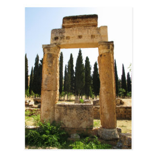 Hierapolis - ancient Greek city near  Pamukkale Post Card