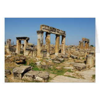 Hierapolis became a healing centre in Roman times Card