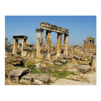Hierapolis became a healing centre in Roman times Postcard