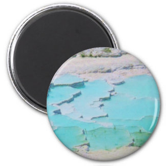 Hierapolis-Pamukkale - UNESCO World Heritage site Refrigerator Magnets