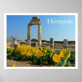 Hierapolis Ruins, Turkey Print
