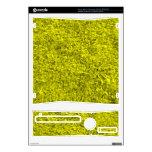 Hierba amarilla calcomanías para el xbox 360 s