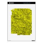 Hierba amarilla iPad 2 skins