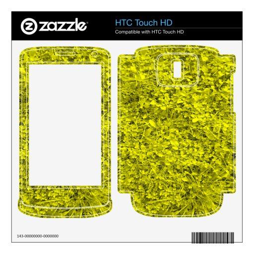 Hierba amarilla skin para el HTC touch HD