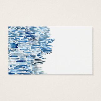 Hierba azul tarjetas de visita