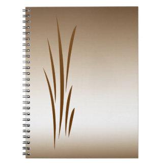 Hierba de bronce cuadernos