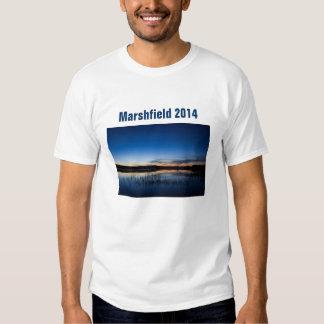 Hierba de Marshfield de hombres/andrógina… Playera