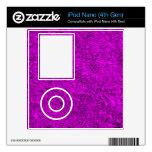Hierba púrpura iPod nano 4G skin