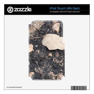 Hierba quemada iPod touch 4G calcomanías