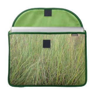 Hierba verde funda para macbooks