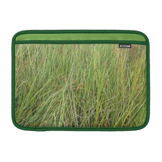 Hierba verde fundas macbook air