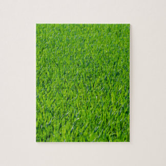 Hierba verde rompecabezas