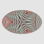 Hierbabuena en diciembre de 2012 3D Pegatina Ovaladas Personalizadas