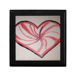 Hierbabuena en forma de corazón cajas de regalo