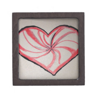 Hierbabuena en forma de corazón cajas de regalo de calidad