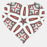 Hierbabuena palillo estrella diciembre de 2012 calcomania corazon personalizadas
