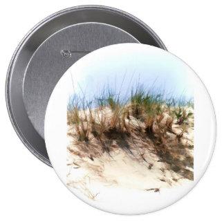 Hierbas de la duna de arena del bosquejo del color pin