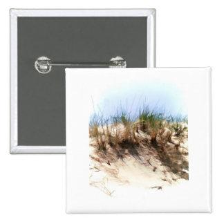 Hierbas de la duna de arena del bosquejo del color