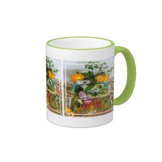 Hierbas para la salud taza de café