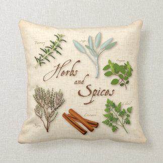 Hierbas y especias, Rosemary, sabio, tomillo, Almohada