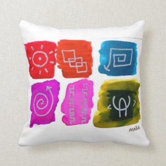 Hieroglyph 6-pack pillows