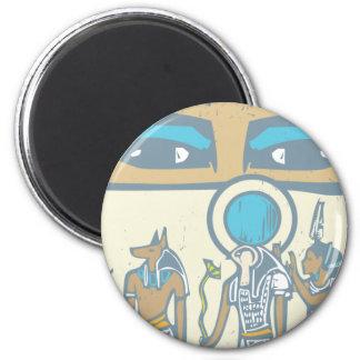 Hieroglyph Eyes Magnet
