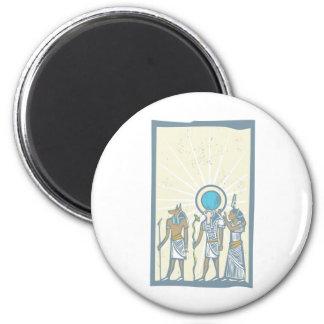 Hieroglyph Sun Rays 2 Inch Round Magnet