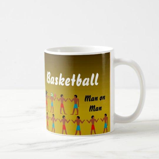 Hieroglyphic Basketball Coffee Mug