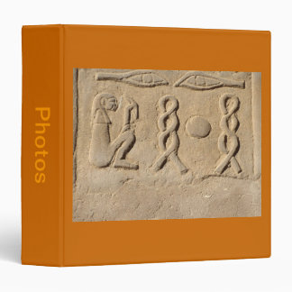 Hieroglyphics 3 Ring Binder