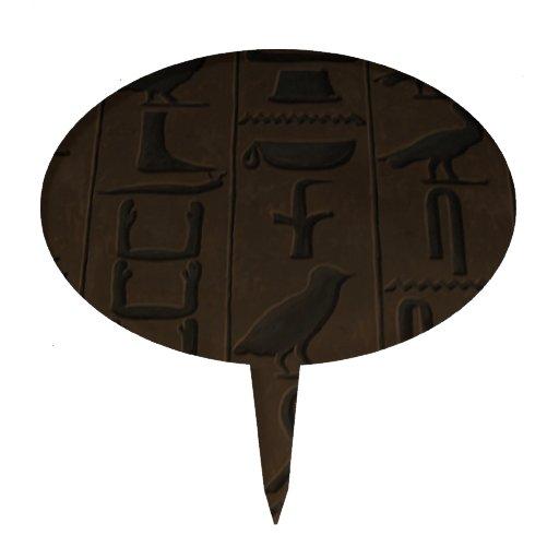 Hieroglyphics Decoraciones De Tartas