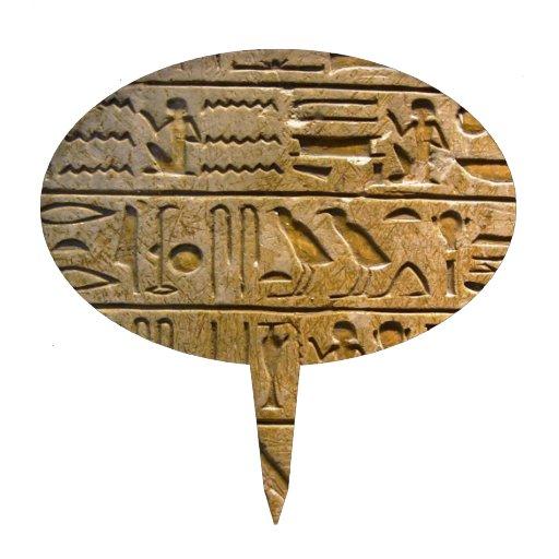 Hieroglyphics Figuras De Tarta