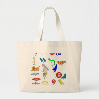 Hieroglyphics Canvas Bags