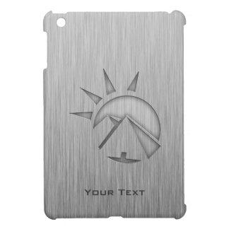 Hieroglyphics cepillados de la metal-mirada iPad mini cárcasa