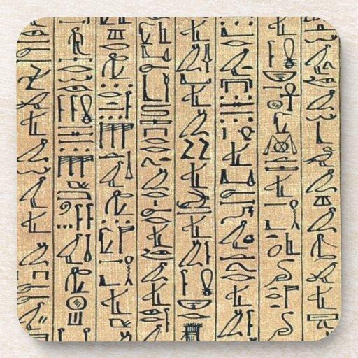 Hieroglyphics Cork Coaster
