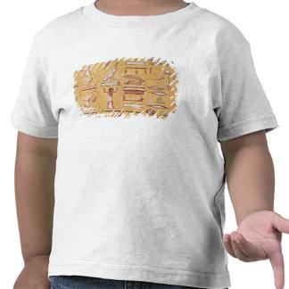 Hieroglyphics, de la tumba de Seti I Camisetas