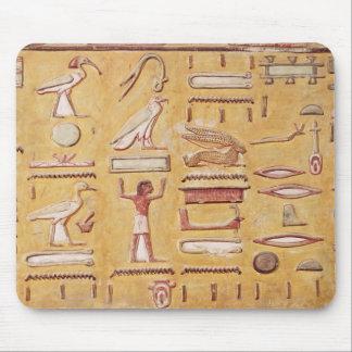 Hieroglyphics, de la tumba de Seti I Alfombrilla De Ratones