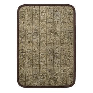 Hieroglyphics egipcios fundas macbook air