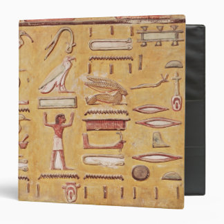 Hieroglyphics, from the Tomb of Seti I Binder