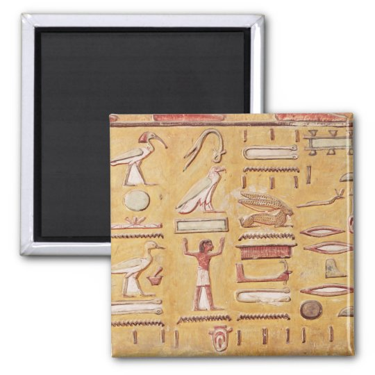Hieroglyphics, from the Tomb of Seti I Magnet